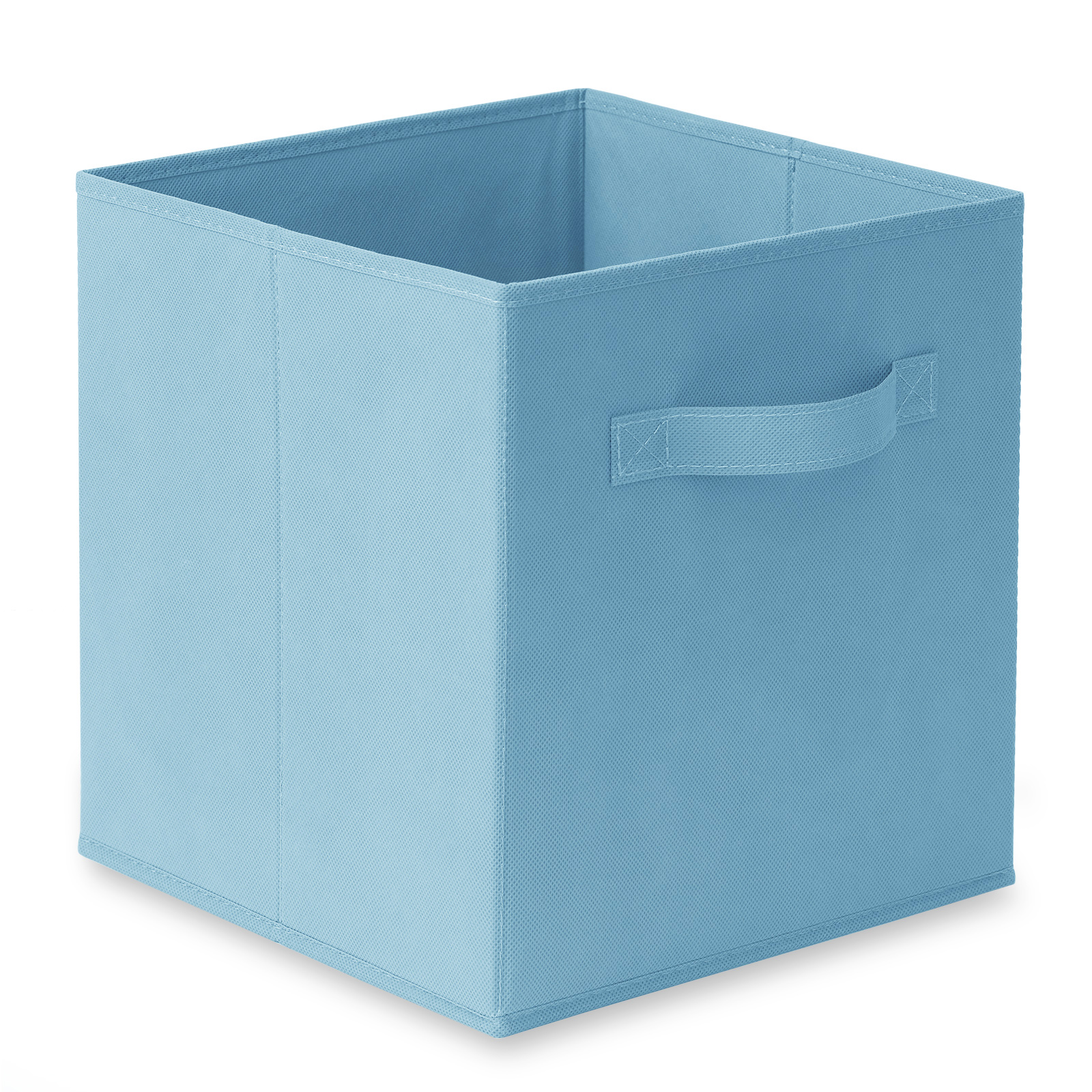 6-Collapsible-Foldable-Cloth-Fabric-Cubby-Cube-Storage-Bins-Baskets-for-Shelves thumbnail 3