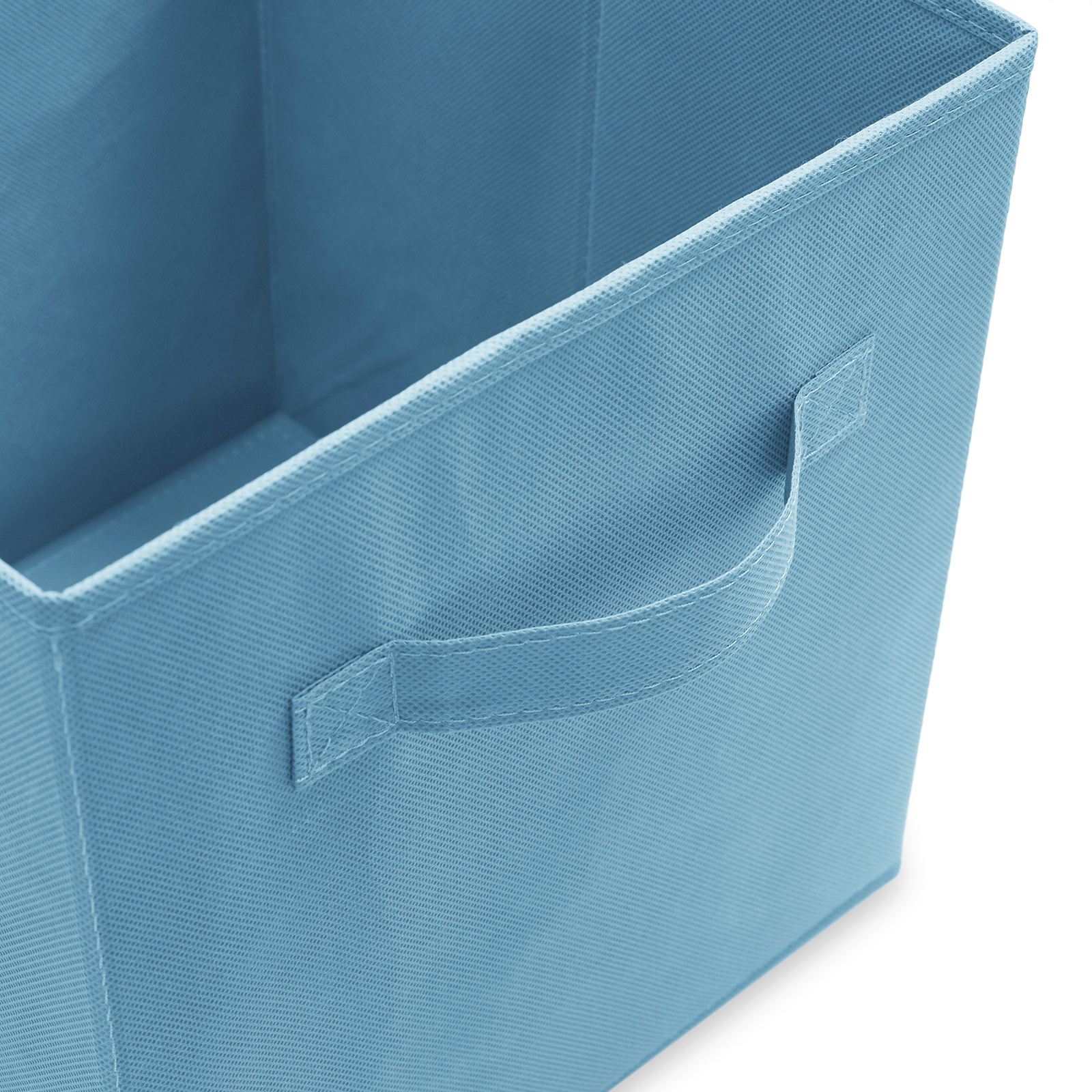6-Collapsible-Foldable-Cloth-Fabric-Cubby-Cube-Storage-Bins-Baskets-for-Shelves thumbnail 4