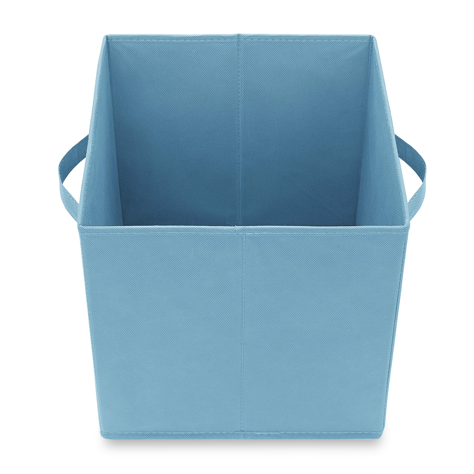 6-Collapsible-Foldable-Cloth-Fabric-Cubby-Cube-Storage-Bins-Baskets-for-Shelves thumbnail 5