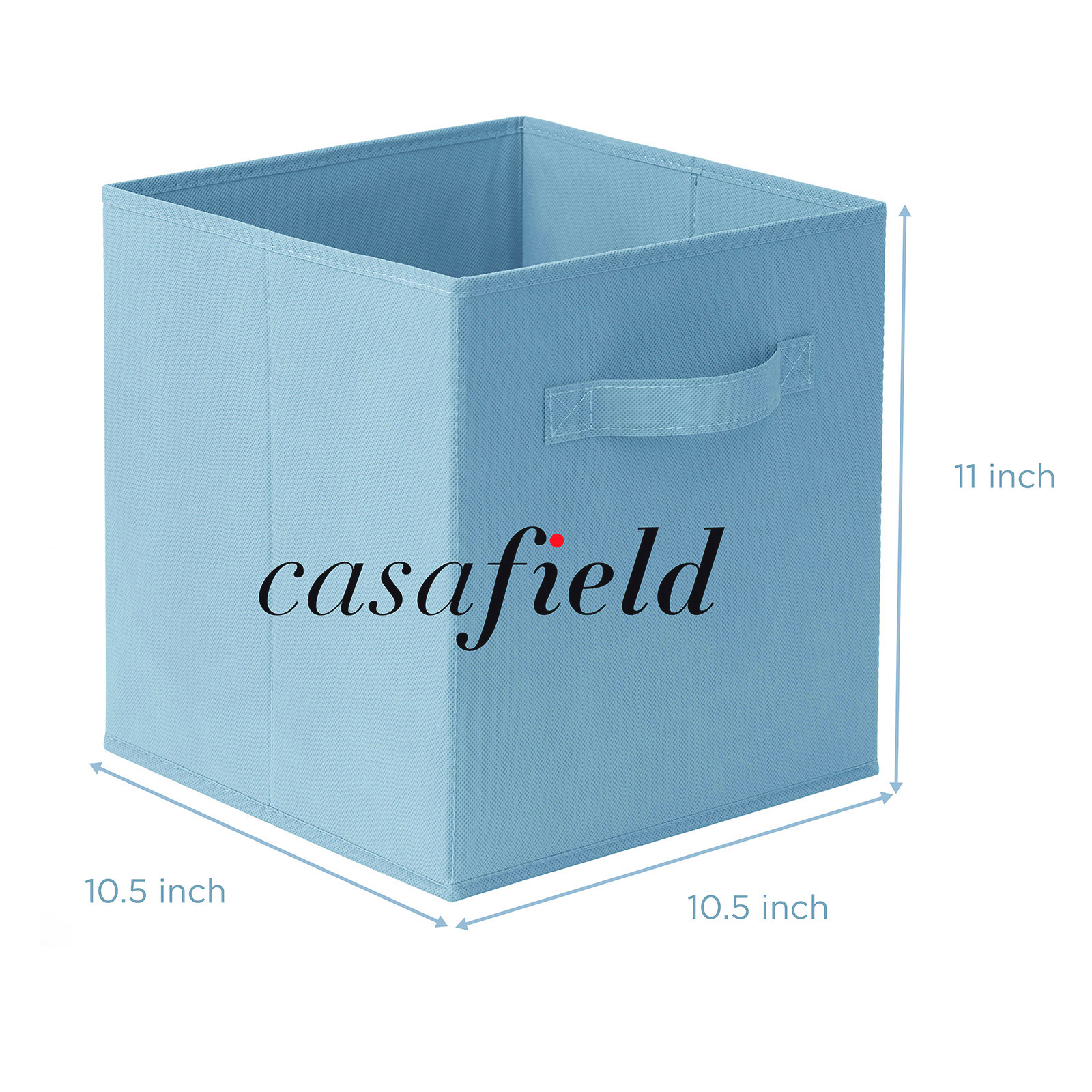 6-Collapsible-Foldable-Cloth-Fabric-Cubby-Cube-Storage-Bins-Baskets-for-Shelves thumbnail 8